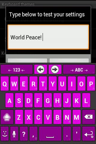 Any Purple Anysoft keyboard