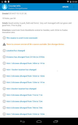 DiscGolf Pro - screenshot