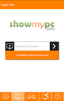 Screenshot of ShowMyPC Remote Support Access