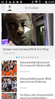 Screenshot of syracuse.com: SU Football News