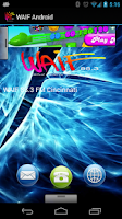 Screenshot of WAIF Android