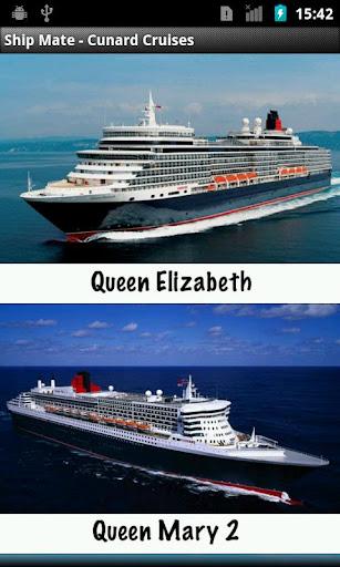 Ship Mate - Cunard Cruises