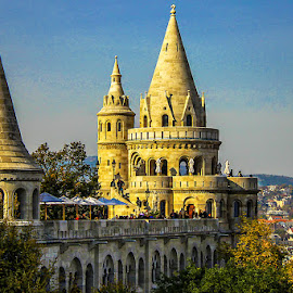 Fisherman's Bastion by Adeline Tan - Buildings & Architecture Other Exteriors (  )
