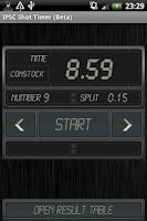 Screenshot of IPSC Shot Timer