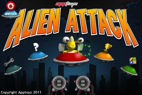 apptoyz Alien Attack