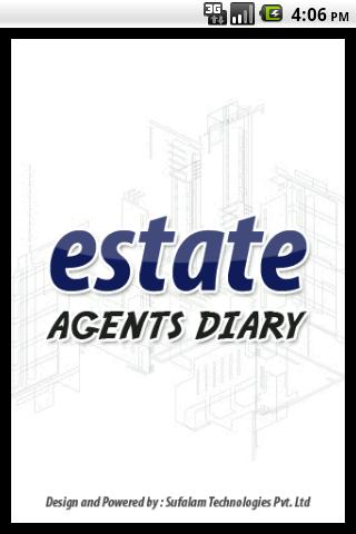 Estate Agents Diary