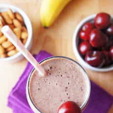 Cherry Bakewell protein smoothie