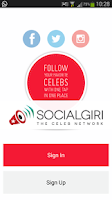 Screenshot of Socialgiri - The Celeb Network