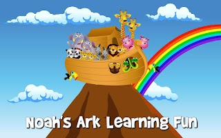 Screenshot of Noah's Ark Learning Fun