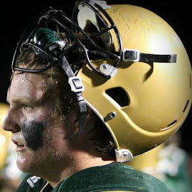 Left It All On The Field by Lori Collings - Sports & Fitness American and Canadian football