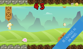 Screenshot of Landless Runner