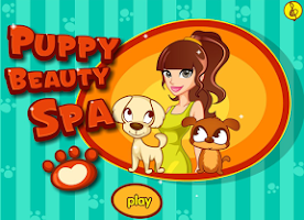 Screenshot of Puppy Beauty Spa Salon