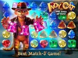 Screenshot of Indy Cat Match 3