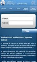 Screenshot of OPL Ordine Psicologi Lombardia