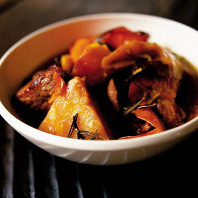 Slow-cooked Celeriac With Pork & Orange