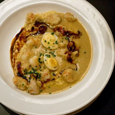 Spicy Rock Shrimp & Grits