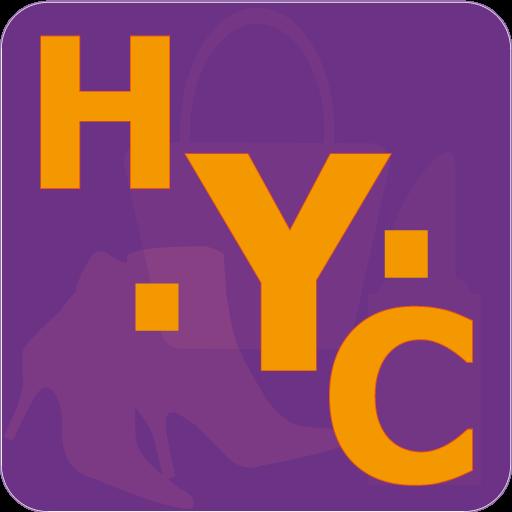 H.Y.C奢侈品 LOGO-APP點子