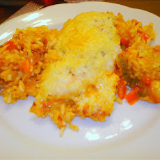 Chicken Rice & Veggie Casserole