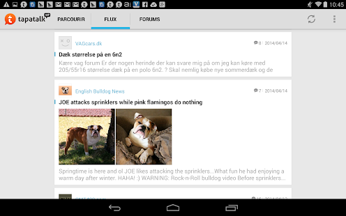 Screenshots  Tapatalk