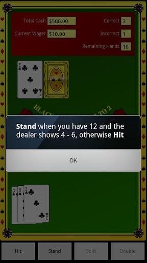 Blackjack Coach - screenshot