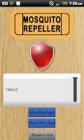 Screenshot of Mosquito Repeller App