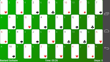 Screenshot of Bastard Solitaire