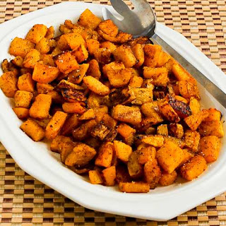 Roasted Butternut Squash with Moroccan Spices