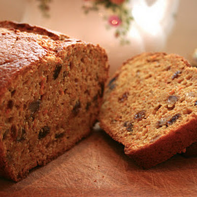 Carrot and Sultana Tea Loaf