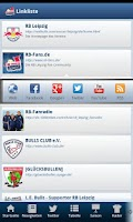 Screenshot of FanApp for RBL
