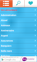 Screenshot of Blagues et Plaisanteries