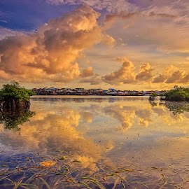 Cermin alam by Ipin Utoyo - Landscapes Sunsets & Sunrises