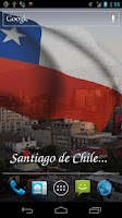 Screenshot of 3D Chile Flag Live Wallpaper +