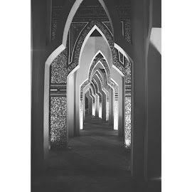 Islamic architecture//  by Anisah A.A - Buildings & Architecture Places of Worship ( religion, islamic, architecture, places of worship )