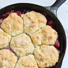 Strawberry-Raspberry Cobbler