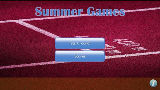 Summer Games Quiz
