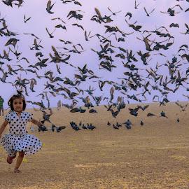 Color by Abishek Sridhar - Babies & Children Children Candids ( love, color, little angel, morning beauty, chennai,  )