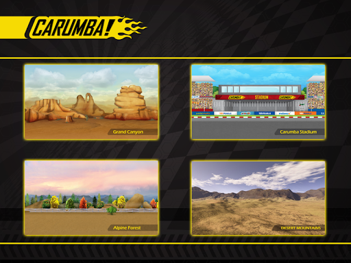 Carumba! The Ultimate Car Race