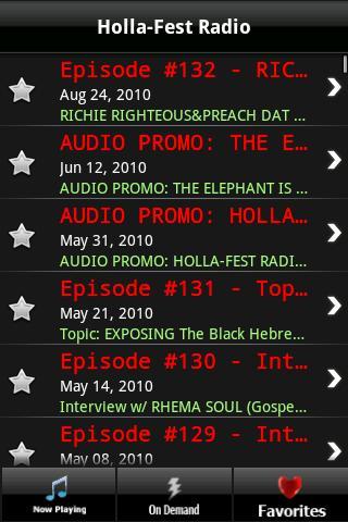 Holla-Fest Radio