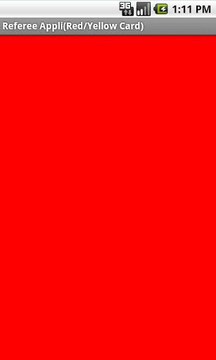 【免費娛樂App】Soccer Referee(Red/Yellow)-APP點子