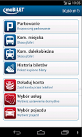 Screenshot of moBILET