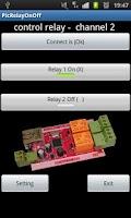 Screenshot of PLC 2 relay remote control net