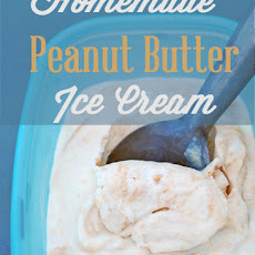 Homemade Peanut Butter Ice Cream – (no cooking required)