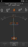 Screenshot of Tuner - gStrings Free