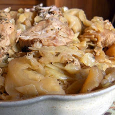 Spicy Pork and Cabbage (crock Pot)