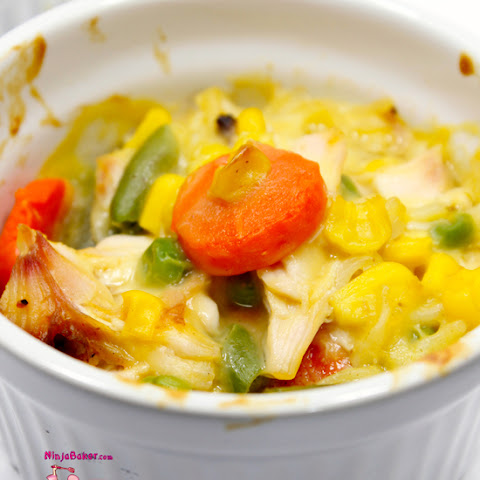 Chicken Ramen Mini Casseroles, #SundaySupper