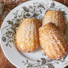 Utah Honey Madeleines