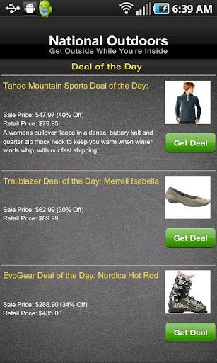 【免費購物App】Daily Gear Deals-APP點子