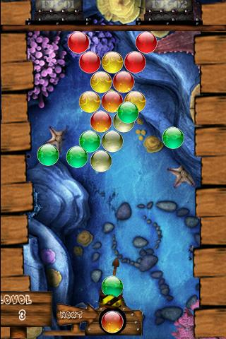 bubble-shooter for android screenshot