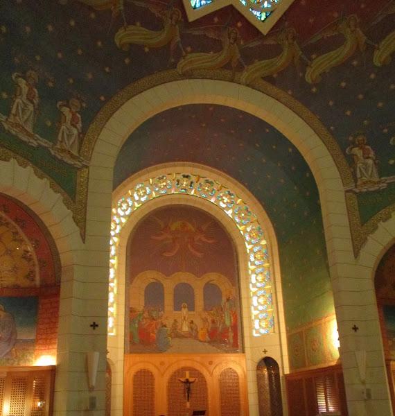 The Church of St. Peter in Gallicantu Interior