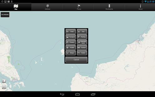 Offline Map Brunei - screenshot